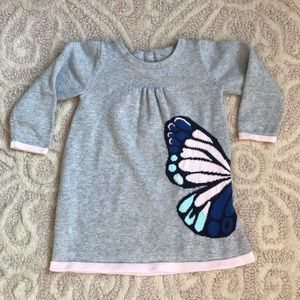 Gymboree Knit Butterfly Dress